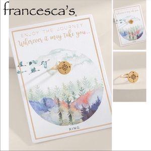 Francesca's Compass Ring